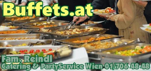 Wiener Buffet zum Pauschalpreis - Fixpreis - Catering preiswert & gut