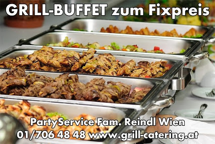 Grill-Buffet zum Fixpreis, BBQ Grill Catering